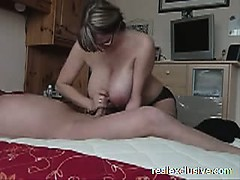 great-handjob-from-my-busty-wife