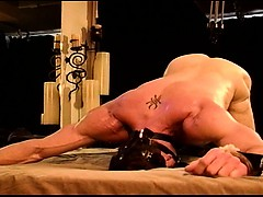 CBT Predicament Bondage...If you move it hurts more.
