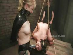 amazing-busty-slut-suspended-in-the-air-brutalized-and-fucked-in-slavery-threesome-sex