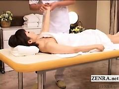 subtitled-pale-japan-short-hair-milf-erotic-oil-massage