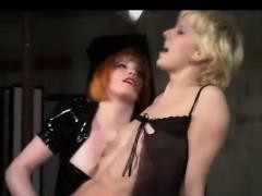 Hairy Lesbian Pussy Domination