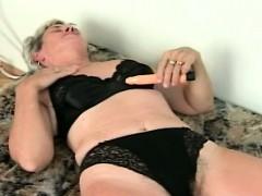 granny-enjoys-her-toy