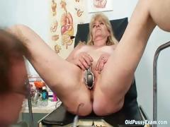 blond-grandma-kinky-pussy-exam-with-enema