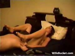 Amateur couple bedroom sex