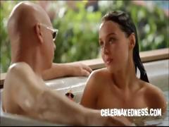 celeb-camilla-luddington-nude-in-hottub-bare-breasts