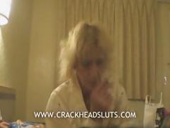 Blonde Granny Crackhead Blowjob In A Nasty Sexual