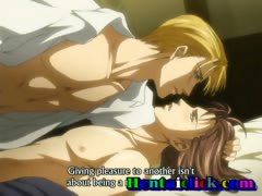 Hentai gay anal sex and love action