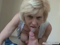 Horny Blonde Housewife Goes Crazy Part4